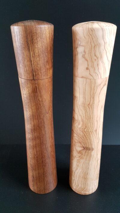 Peper en zoutmolen set hout